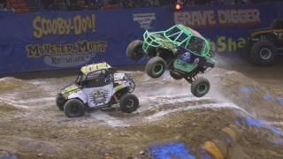 Monster Jam Charleston Highlights   Triple Threat East   Feb 3 4, 2017