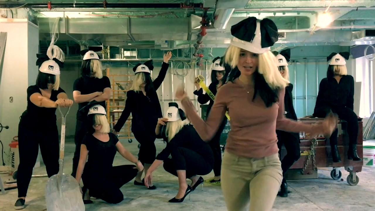 Sia - Chandelier (OFFICE HALLOWEEN PARODY) - YouTube
