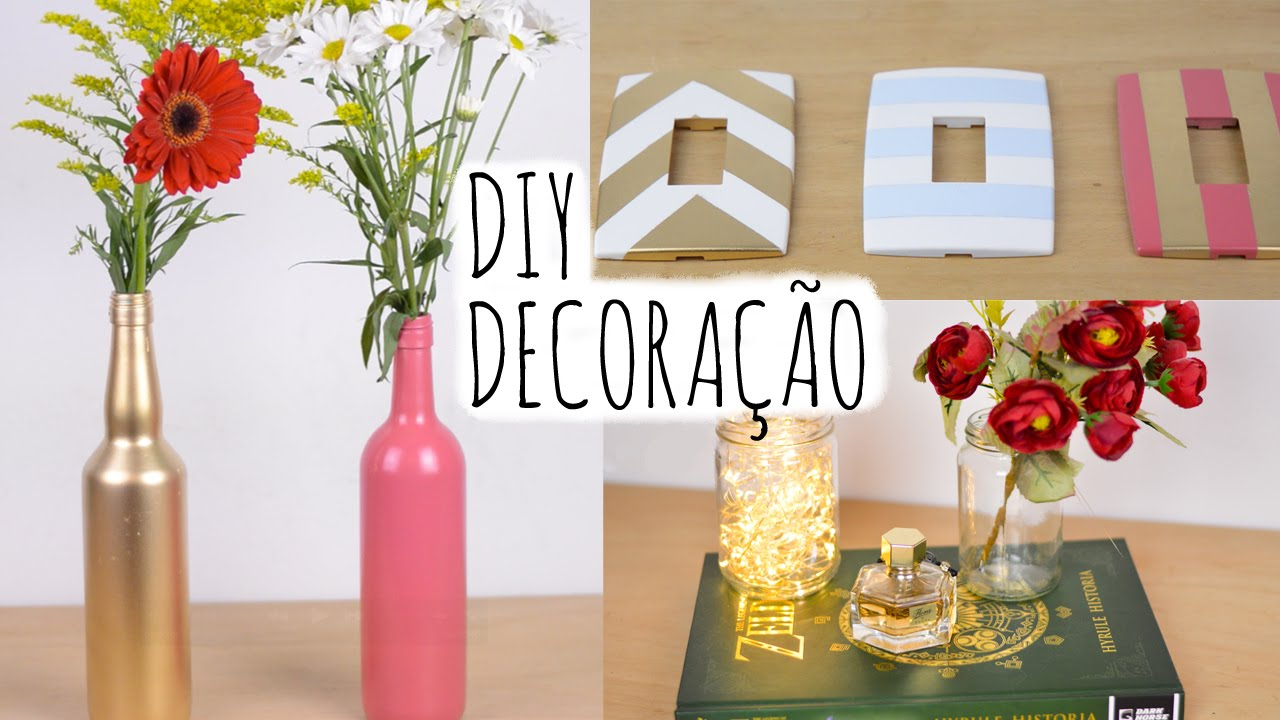 Decoracao Yotube ~ DIY Decoraç u00e3o YouTube