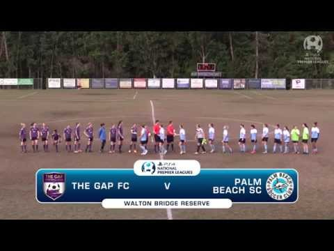 PS4NPLQLD Highlights - The Gap Women v Palm Beach SC Women