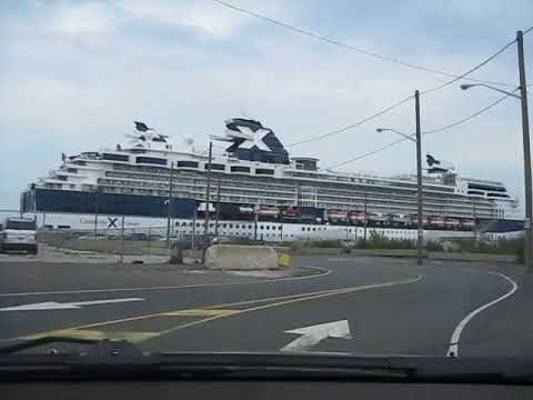 Driving to Cape Liberty Cruise Port 2010-08-01.avi