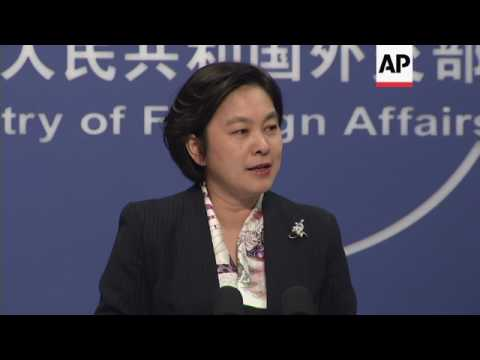 China spokesman on NKorea, US visit, Dalai Lama