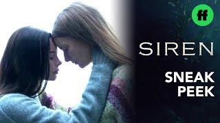 Siren Season 2, Episode 12 | Sneak Peek: Ryn & Eliza Discuss Mermaid Babies | Freeform