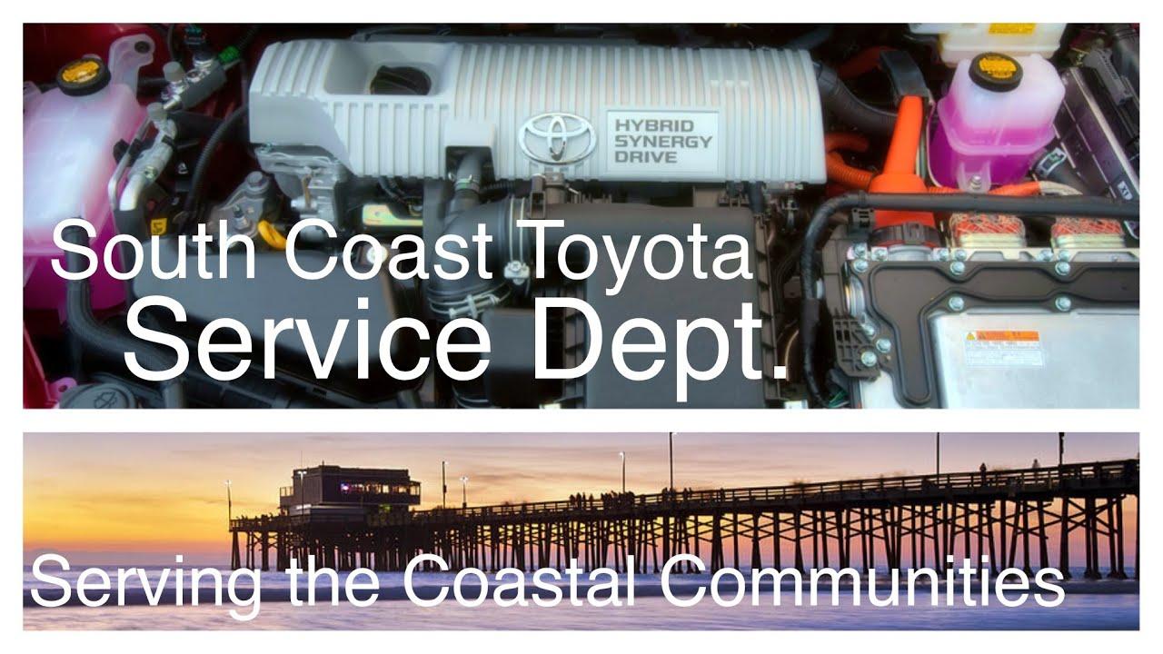South Coast Toyota Service Department   Serving The Coastal Communities