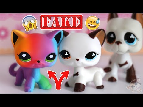 COOLEST FAKE LPS EVER!? || Rainbow Cat & #577 Cat (Fake Littlest Pet Shop) || LPS Mail Time ❤