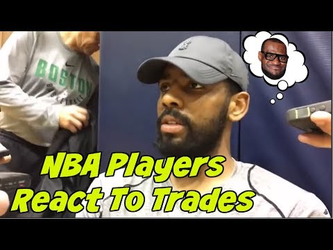 NBA Players React To Cleveland Cavaliers Trade of Isaiah Thomas, Dwyane Wade & More
