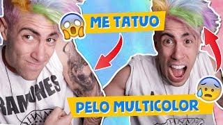 RETO: CAMBIO DE LOOK EXTREMO!! *tatuajes, piercing, cabello de color*