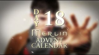 Angel Coulby talks about Merlin kissing scenes | Day 18 | Merlin Advent Calendar