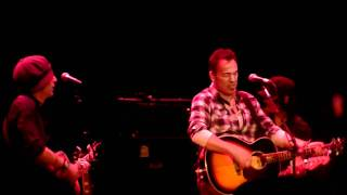 "Jesse Malin w/ Bruce Springsteen ""Broken Radio"" 1/15/11 LOD 11 Paramount Theatre Asbury Park, Nj."