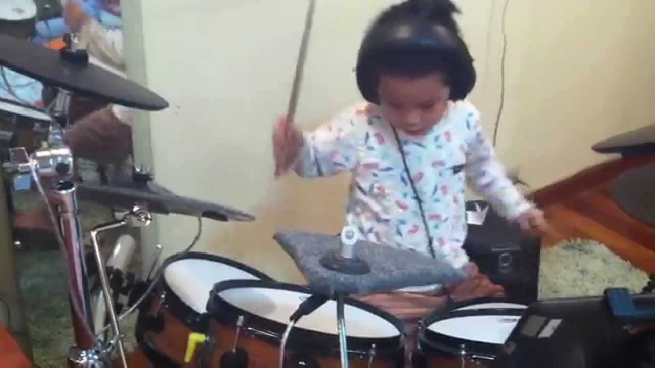 Big Ass  Drum Cover By August Musicolli Kids