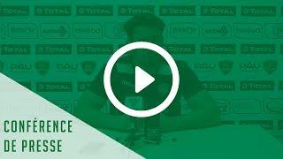 Conférence de presse avant Stade Français Paris-Section