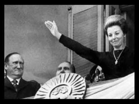 Isabel Martínez de Perón 1 de mayo de 1975