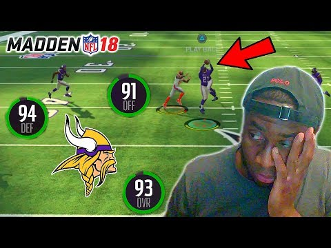 HOW ARE THE EAGLES SUPPOSED TO SCORE ON THIS DEFENSE?! VIKINGS ARE TOO OP! Madden 18 Online H2H