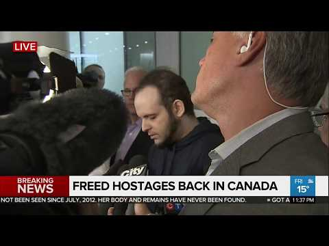 Ex-hostage Canadian Boyle says extremists killed child, raped wife