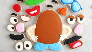 Mr. Potato Head Cookies For Toy Story 4!