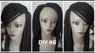 Diy #6: senegalese twist wig(medium)