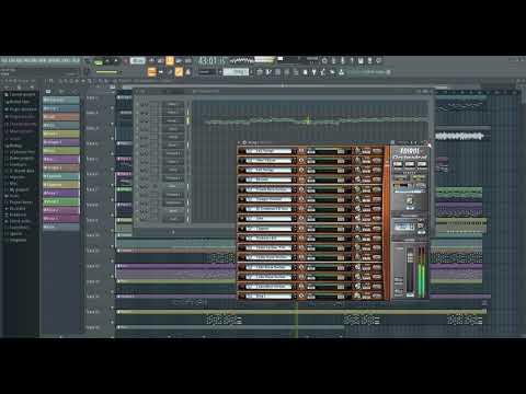 Руки Вверх - 10 лет (FL Studio 20 )