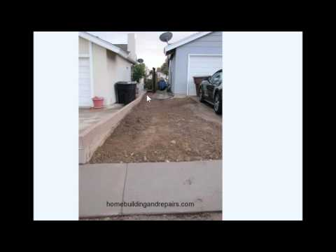 Side Driveway Extension Creates Site Drainage and Property Line Problems