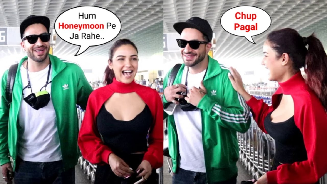 Jasmin Bhasin VM With Aly Goni Going For Vacation After Bigg Bogg 14 Finale