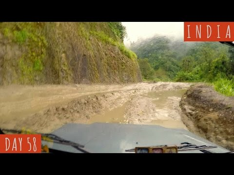 4 Days Travel to Manipur on the CRAZIEST Roads! | DAY 58