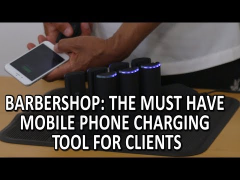 barbershop: The Must have Mobile Phone Charging Tool For Clients