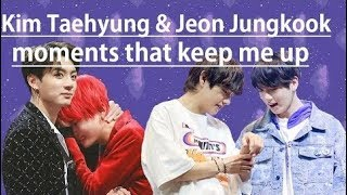 (BTS) Kim Taehyung & Jeon Jungkoook (TAEKOOK/VKOOK) moments that keep me up at night
