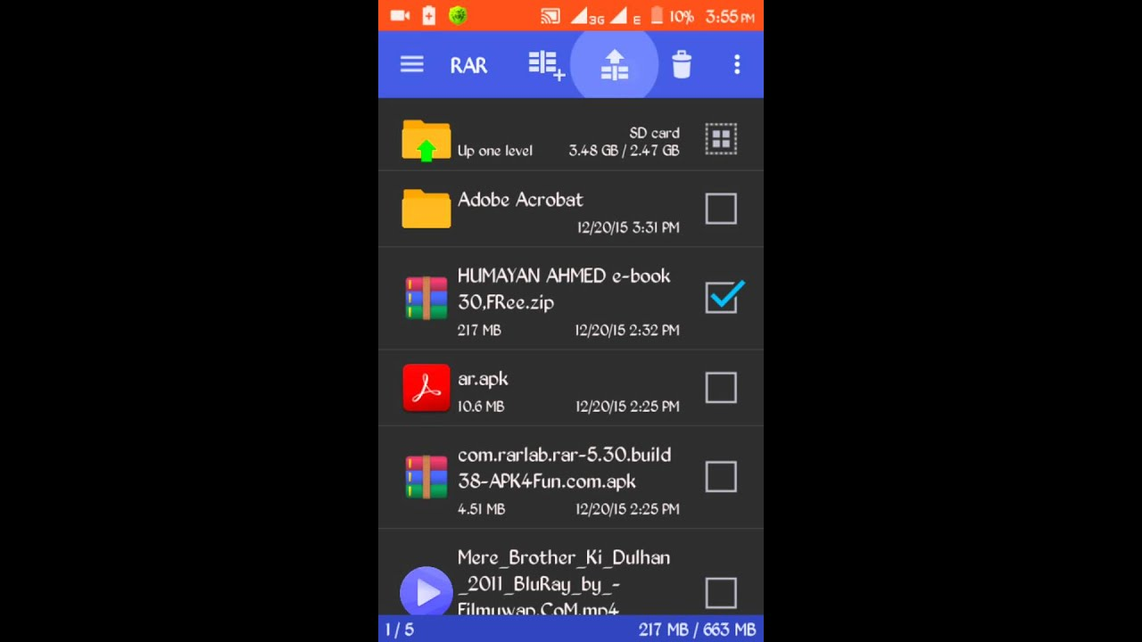how to open pdf file/Extract zip on Android Bangla