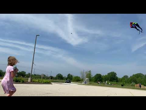 Kite Flying at Ozaukee Christian School