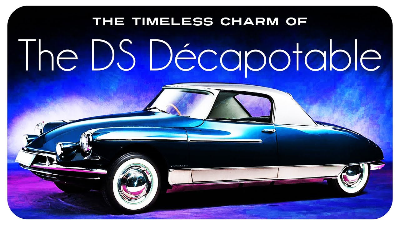 The Timeless Charm Of The DS Décapotable