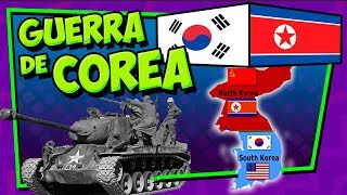 🌍 ¿Qué pasa con Corea del Norte y del Sur? ¿Por qué se odian? - Resumen de la Guerra de COREA