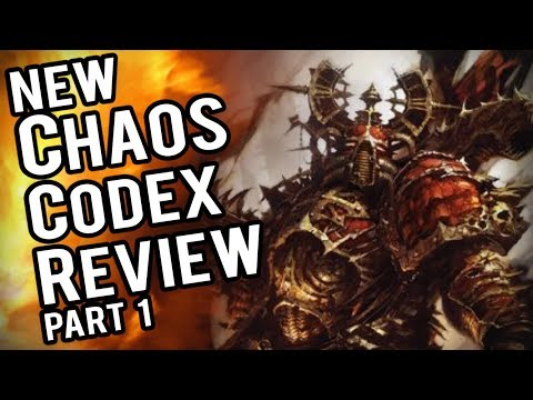 NEW Chaos Space Marine Codex Heretic Astartes Review