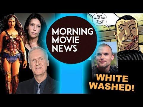 James Cameron vs Wonder Woman & Patty Jenkins, Hellboy Whitewashing