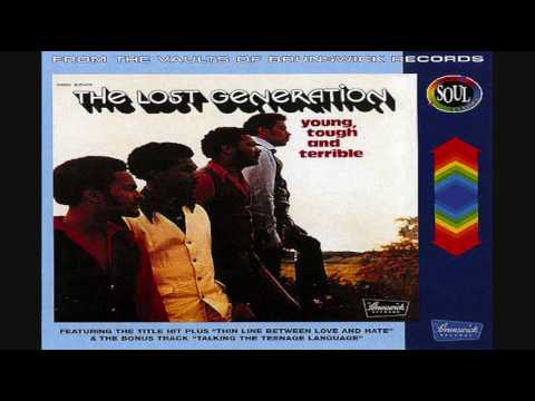 The Lost Generation ‎– Young, Tough And Terrible LP 1972