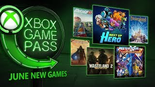 Xbox Game Pass JUNE 2018 NEW FREE games