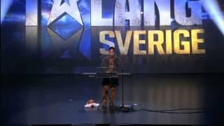 Úžasný výkon v šou Švédsko má talent