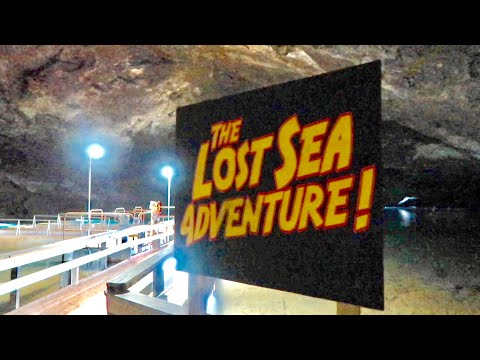 The Lost Sea Adventure : Largest Underground Lake - Boat Ride & Tour At Craighead Caverns