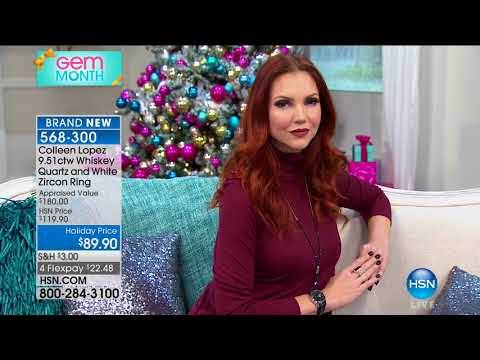 HSN | Colleen Lopez Gemstone Jewelry 10.11.2017 - 03 PM