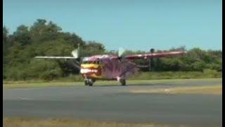 Pink Boogie in Leer 2018 - Flight 20 with (OE-FDI) am 18.07.2018 GOPRO/CabinCam