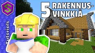 Kuinka rakentaa hieno talo!   Minecraft Tutoriaali