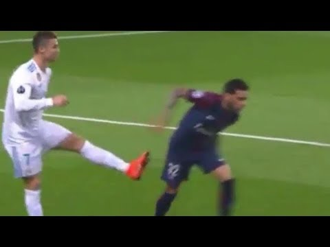 Cristiano Ronaldo Tries to KICK Opponent, Does NOT Get a Red Card and Fans Are PISSED