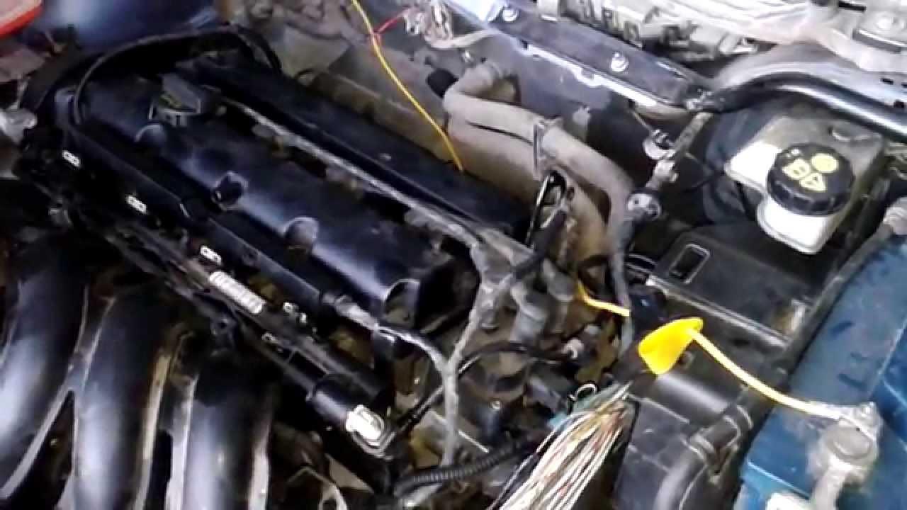 ford focus ll 1.6tdci застучал двигатель