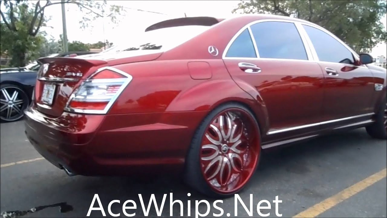 Acewhips Net Candy Brandywine Mercedes Benz S550 Amg On