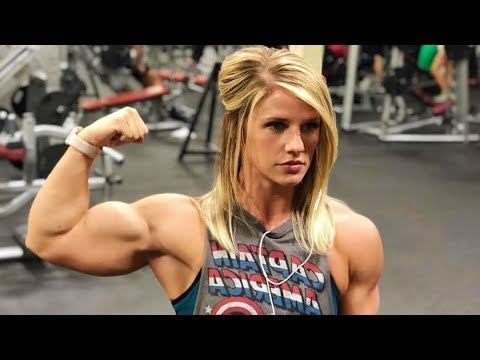 fbb muscles girl  ashlee potts  female bodybuilding