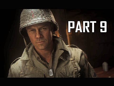 CALL OF DUTY WW2 Walkthrough Part 9 - Hill 493 (Campaign Story Let's Play Commentary)