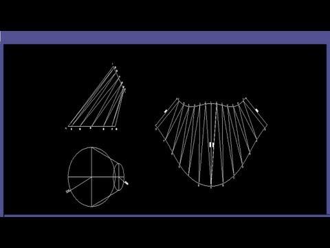 truncated cone template - how to draw oblique cones doovi