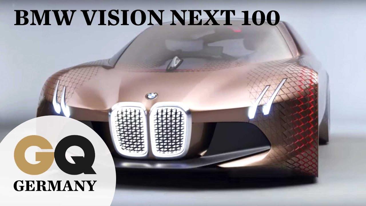 Bmw Vision Next 100 Wie Sieht Das Auto Der Zukunft Aus Youtube