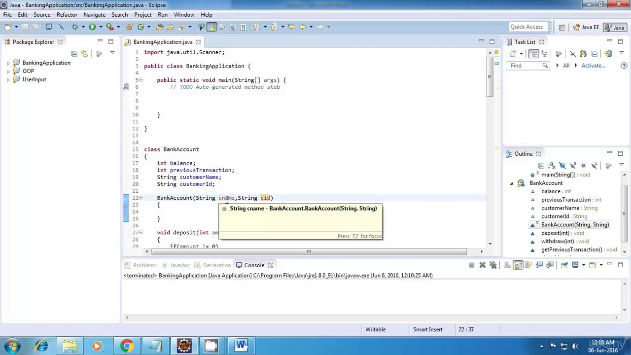 Freeware Banking Software Java Banking Application Project Full Tutorial