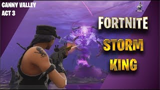 Storm King Boss Fight - Fortnite Save the World (Battle Royal Quest)