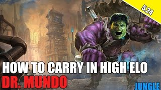 ✔ HOW TO CARRY AS DR. MUNDO JUNGLE IN SEASON 6 - Challenger Commentary | League of Legends