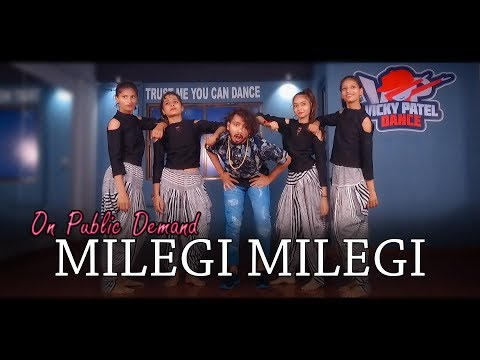 Milegi Milegi | Stree | Vicky Patel Dance Choreography | Bollywood Step